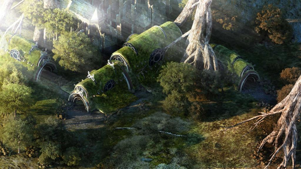 El apartado artístico es uno de las mejores bazas del juego y la belleza de algunos parajes es digna de mención.